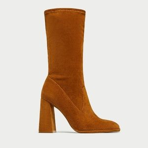 ZARA High heel ankle boot